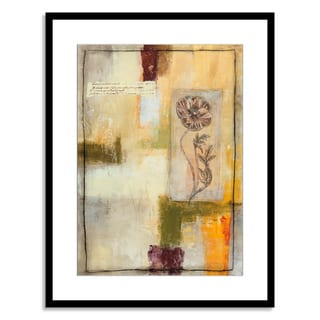 Gallery Direct Jane Bellows 'Flora IV' Paper Framed