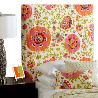 Humble + Haute Prescott Twin Size Pink Floral Upholstered Headboard