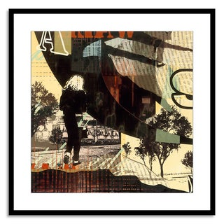 Gallery Direct Sara Abbott 'Urban Radio I' Paper Framed