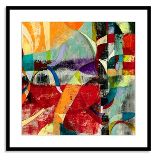 Gallery Direct Sara Abbott 'Instant Karma I' Paper Framed