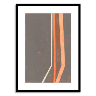 Gallery Direct Sara Abbott 'Tunnel Vision I' Paper Framed