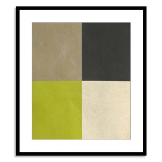 Gallery Direct Benjamin Arnot 'Geometric Conclusion V' Paper Framed