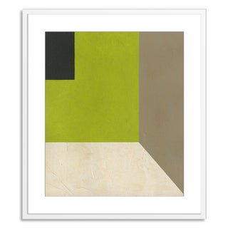 Gallery Direct Benjamin Arnot 'Geometric Conclusion VIII' Paper Framed