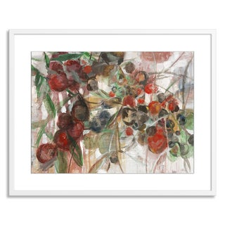 Gallery Direct Sylvia Angeli 'Berry Picking' Paper Framed