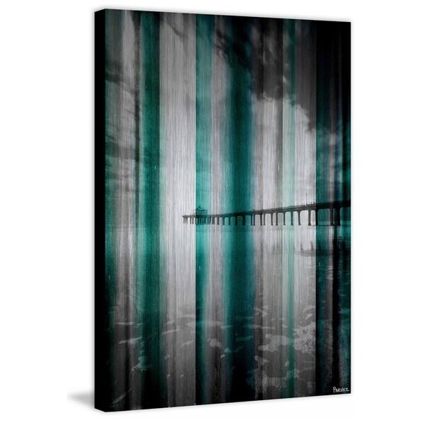 """Parvez Taj - """"Long Walk"""" Print on Brushed Aluminum"""