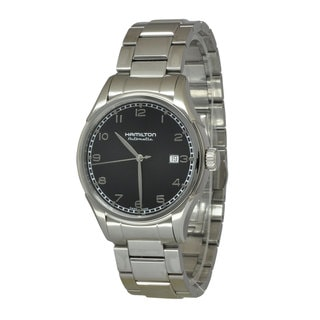 Hamilton Men's H39515133 Valiant Black Watch