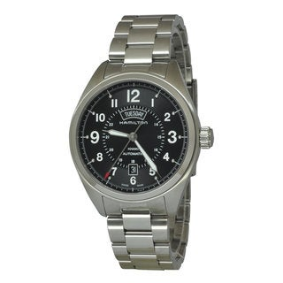 Hamilton Men's H70505133 Khaki Field Black Watch