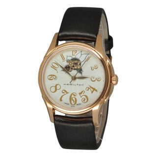 Hamilton Women's H32345483 Jazzmaster White Watch