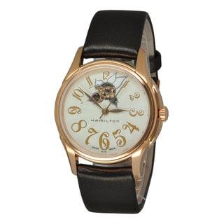 Hamilton Women's H32345483 Jazzmaster White Watch