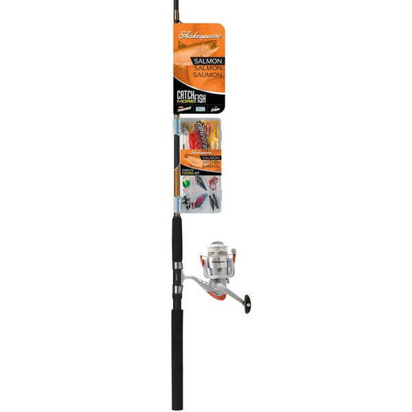 Shakespeare Catch More Fish Salmon Spinning Combo