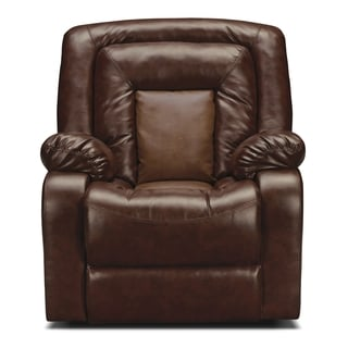 Kmax 2-Toned Reclining Bonded Leather Chair