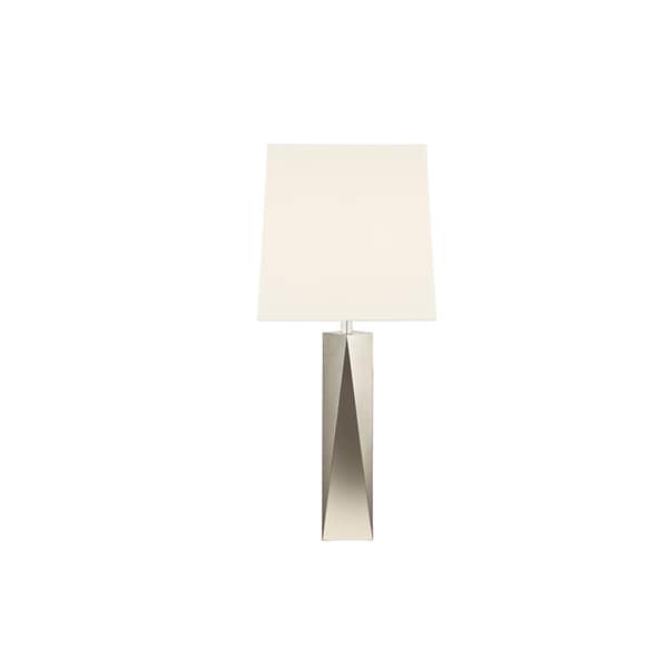 Sonneman Lighting Facet Column Polished Table Lamp