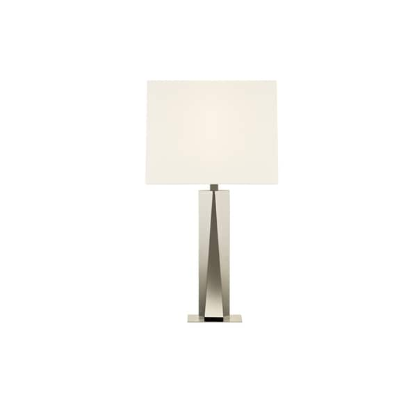 Sonneman Lighting Facet Beam Polished Table Lamp