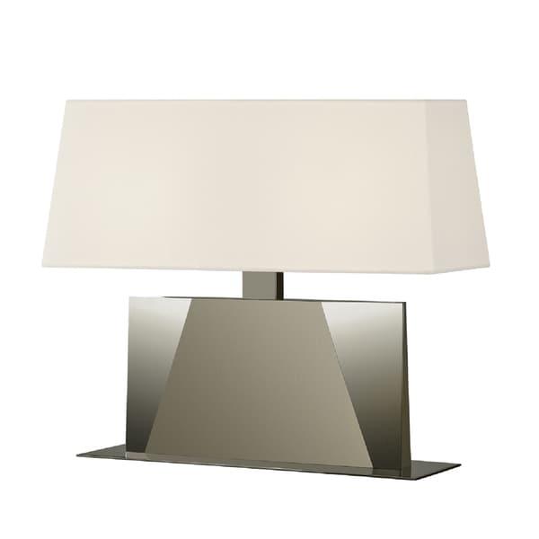 Sonneman Lighting Facet Satin Banquette Lamp