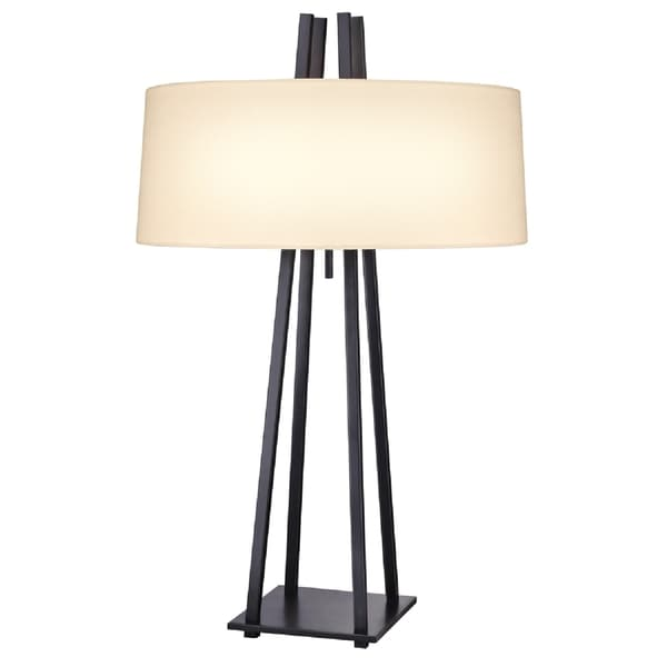 Sonneman Lighting West 12th Anthracite Table Lamp