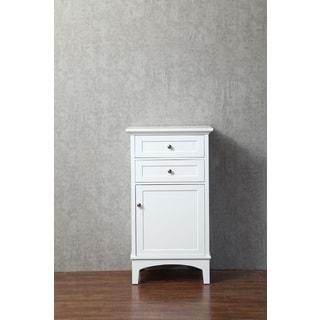 Stufurhome Norma 24 Inch Linen Cabinet
