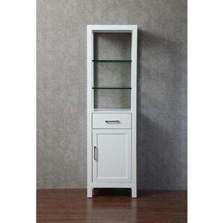 Stufurhome Gracie 20 Inch Linen Cabinet