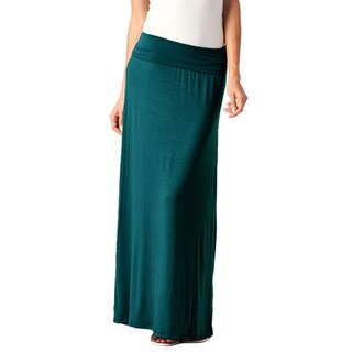 Popana Women's Rayon Comfortable and Versatile Maxi Skirt