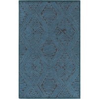 Hand-Woven Oldbury Tax tured Indoor Wool Area Rug - 8' x 10'
