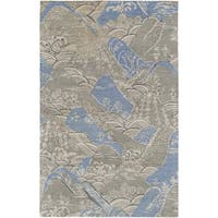 Hand-Tufted Sale Nature Viscose Area Rug (3'3 x 5'3)