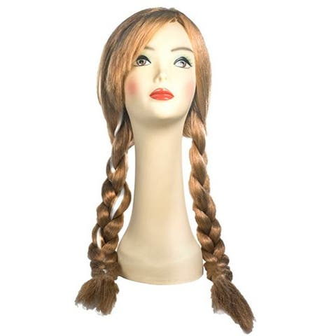 Blonde Braided Pigtails Wig