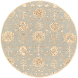 Hand-Tufted Syston Floral Wool Rug (8' Round)