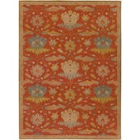 Hand-Tufted Naomi Floral New Zealand Wool Area Rug - 8' x 11'