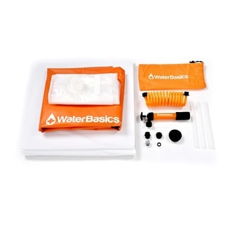 WaterBasics Emergency Water Storage Kit 30gal