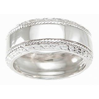 Rhodium Finish Sterling Silver 6 mm Men's Cubic Zirconia Band https://ak1.ostkcdn.com/images/products/10434238/P17531822.jpg?impolicy=medium