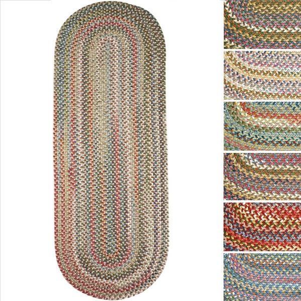 Shop Charisma Indoor/Outdoor Oval Braided Rug By Rhody Rug