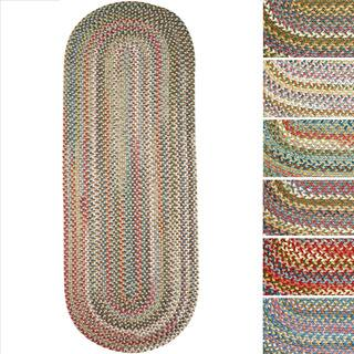 Charisma Indoor/Outdoor Oval Braided Rug by Rhody Rug (2' x 6')|https://ak1.ostkcdn.com/images/products/10434264/P17531846.jpg?impolicy=medium