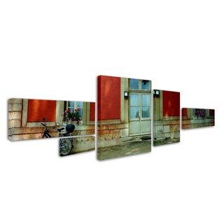 Preston 'Scooter in Versailles' 5 Panel Art Set