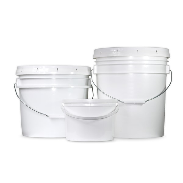 Heavy Duty Bpa Free Plastic Buckets With Lids