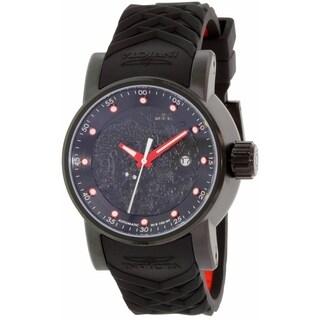 Invicta Men's Rally Black Silicone Automatic Watch