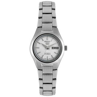 Seiko Women's 5 Automatic SYMC07K Silver Stainless-Steel Automatic Watch