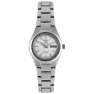 Seiko Women's SYMC07K 5 Automatic Silver Stainless-Steel Automatic Watch