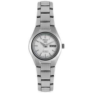 Seiko Women's 5 Automatic Silver Stainless-Steel Automatic Watch