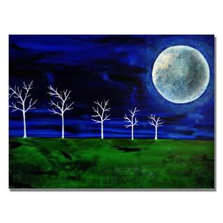 Nicole Dietz 'Blue Moon' Canvas Art