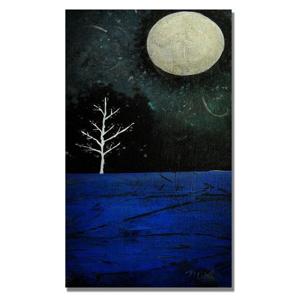 Nicole Dietz 'Moonbeams' Canvas Art