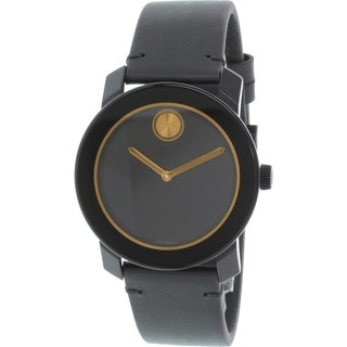 Movado Men's Bold 3600297 Black Resin Swiss Quartz Watch