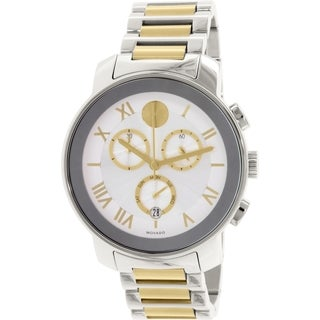 Movado Men's Bold 3600280 Silver Metal Swiss Quartz Watch