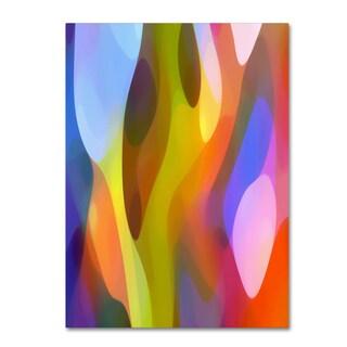 Amy Vangsgard 'Dappled Light 3' Canvas Art
