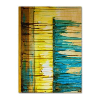 Nicole Dietz 'The Waterfall' Canvas Art