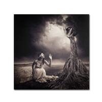 Erik Brede 'Is There Anybody Out There' Canvas Art