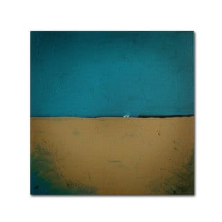Nicole Dietz 'Teal Horizon' Canvas Art
