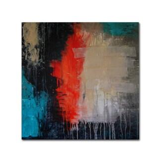 Nicole Dietz 'Rage' Canvas Art