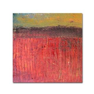 Michelle Calkins 'Highway Series Cranberry Bog' Canvas Art