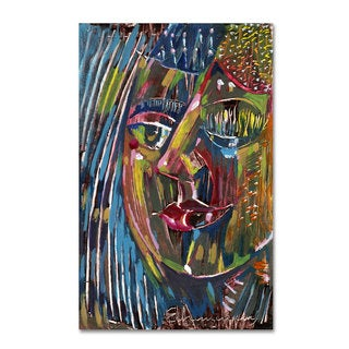 Echemerdia 'Blues' Canvas Art