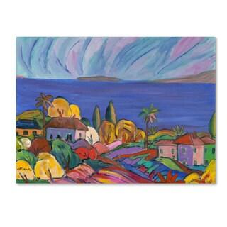 Manor Shadian 'Kihei Shore' Canvas Art