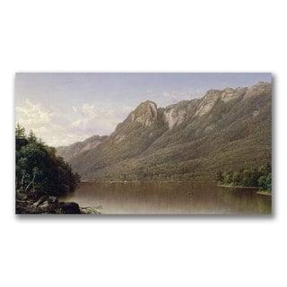 David Johnson 'Eagle Cliff' Canvas Art